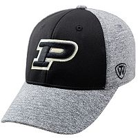 Adult Top of the World Purdue Boilermakers Pressure One-Fit Cap