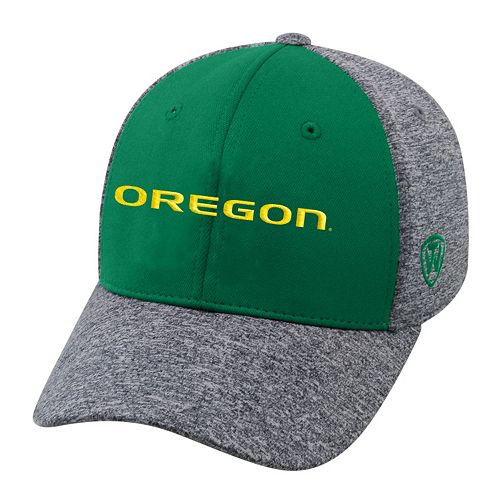 Adult Top of the World Oregon Ducks Pressure One-Fit Cap