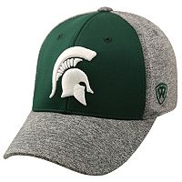 Adult Top of the World Michigan State Spartans Pressure One-Fit Cap