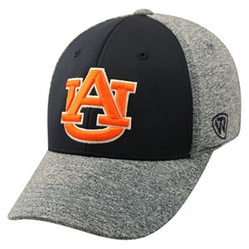 Adult Top of the World Auburn Tigers Pressure One-Fit Cap
