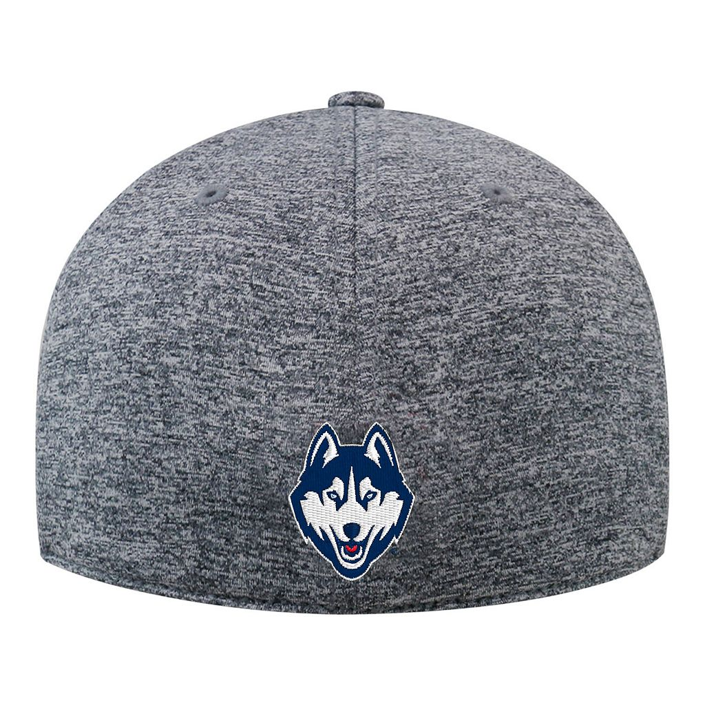 Adult Top of the World UConn Huskies Pressure One-Fit Cap