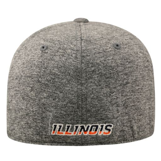 Adult Top of the World Illinois Fighting Illini Pressure One-Fit Cap