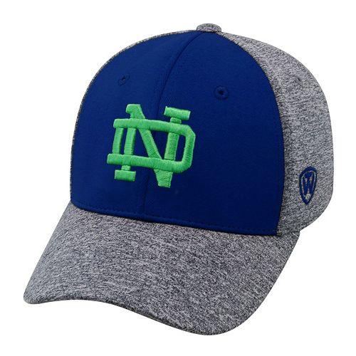 Adult Top of the World Notre Dame Fighting Irish Pressure One-Fit Cap