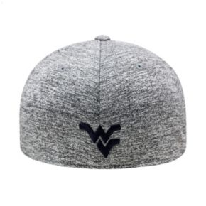 Adult Top of the World West Virginia Mountaineers Pressure One-Fit Cap