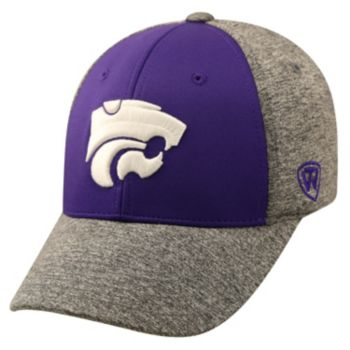 Adult Top of the World Kansas State Wildcats Pressure One-Fit Cap