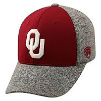 Adult Top of the World Oklahoma Sooners Pressure One-Fit Cap
