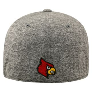 Adult Top of the World Louisville Cardinals Pressure One-Fit Cap