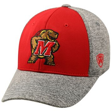 Adult Top of the World Maryland Terrapins Pressure One-Fit Cap