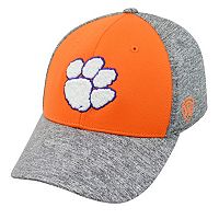 Adult Top of the World Clemson Tigers Pressure One-Fit Cap