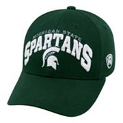 Adult Top of the World Michigan State Spartans Whiz Adjustable Cap