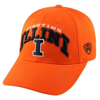 Adult Top of the World Illinois Fighting Illini Whiz Adjustable Cap