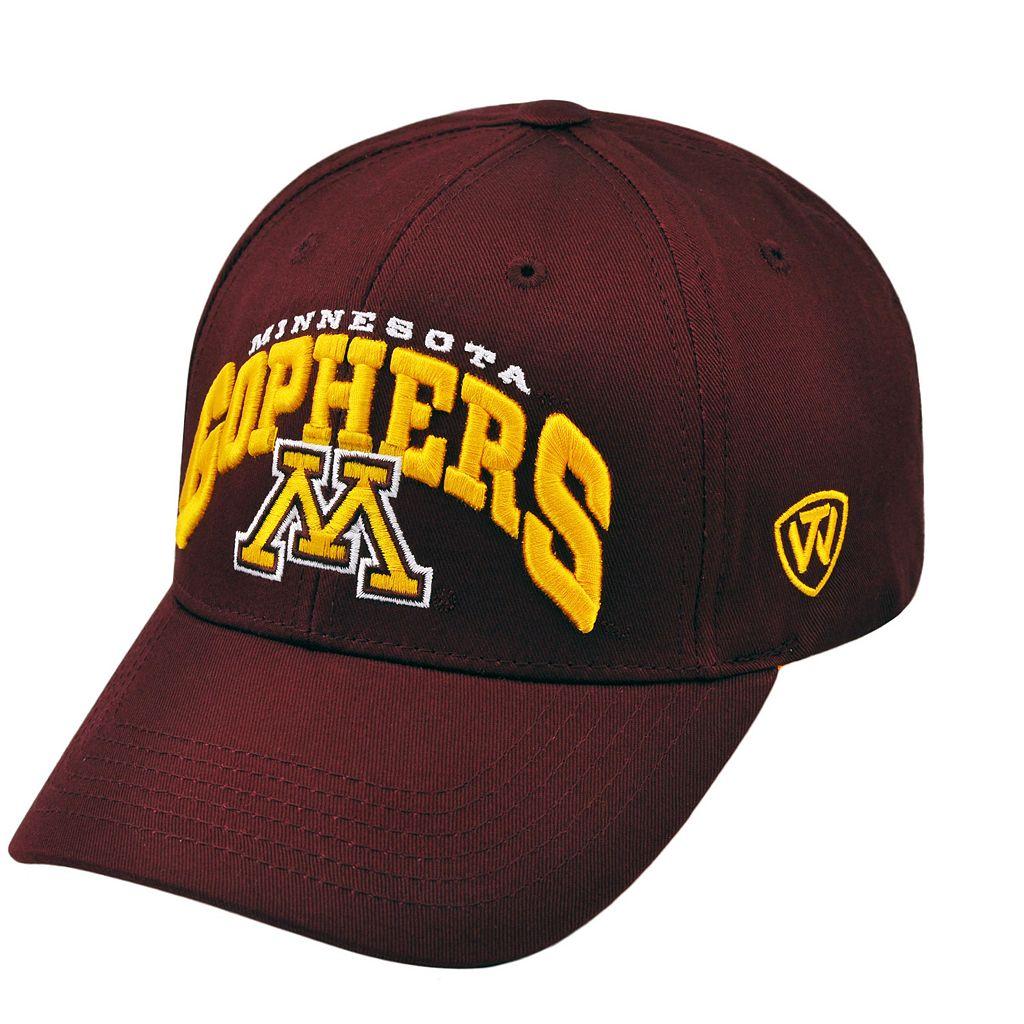 Adult Top of the World Minnesota Golden Gophers Whiz Adjustable Cap