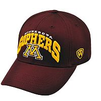 Adult Top of the World Minnesota Golden Gophers Whiz Adjustable Cap