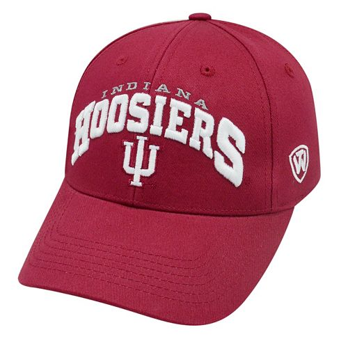 Adult Top of the World Indiana Hoosiers Whiz Adjustable Cap