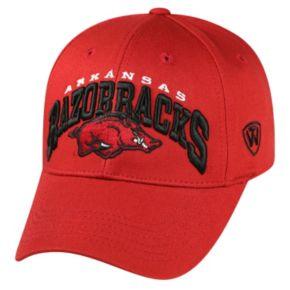Adult Top of the World Arkansas Razorbacks Whiz Adjustable Cap