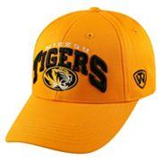 Adult Top of the World Missouri Tigers Whiz Adjustable Cap