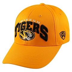 Adult Top of the World Missouri Tigers Whiz Adjustable Cap