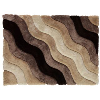 Linon Links Wave Shag Rug