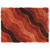 Linon Links Wave Shag Rug
