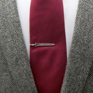 Knight Sword Tie Clip