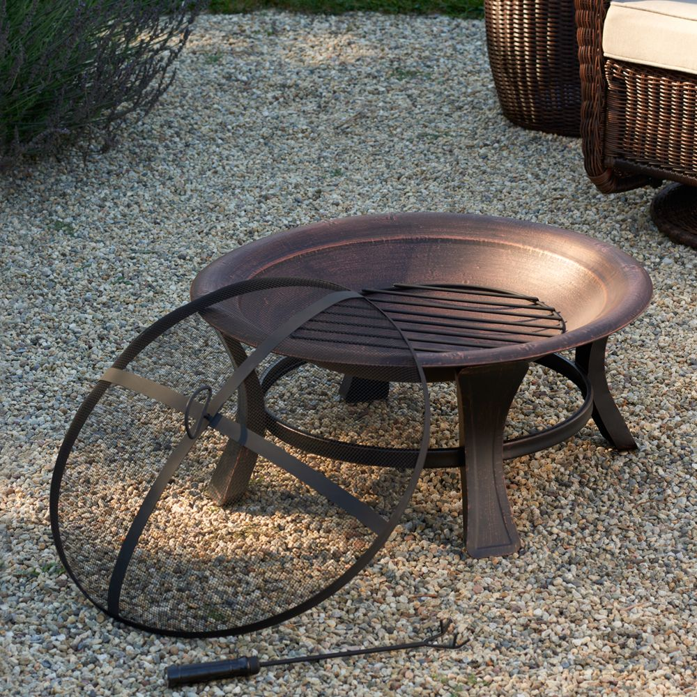 goods for life steel fire pit