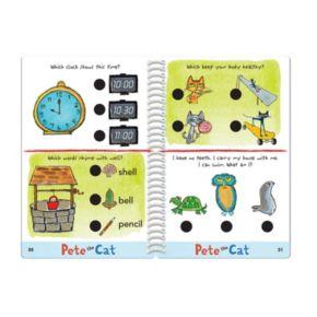 Educational Insights Hot Dots Jr. Pete the Cat Kindergarten Level 1 Activity Book & Talking Pen Set