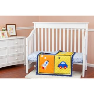 Dream On Me On The Go 2-pc. Crib Bedding Set