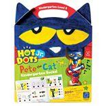 Educational Insights Hot Dots Jr. Pete the Cat Kindergarten Level 2 Activity Book & Talking Pen Set