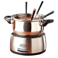Nostalgia Electrics 8 pc Fondue Set