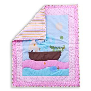 Dream On Me Sea Friends 2-pc. Crib Bedding Set