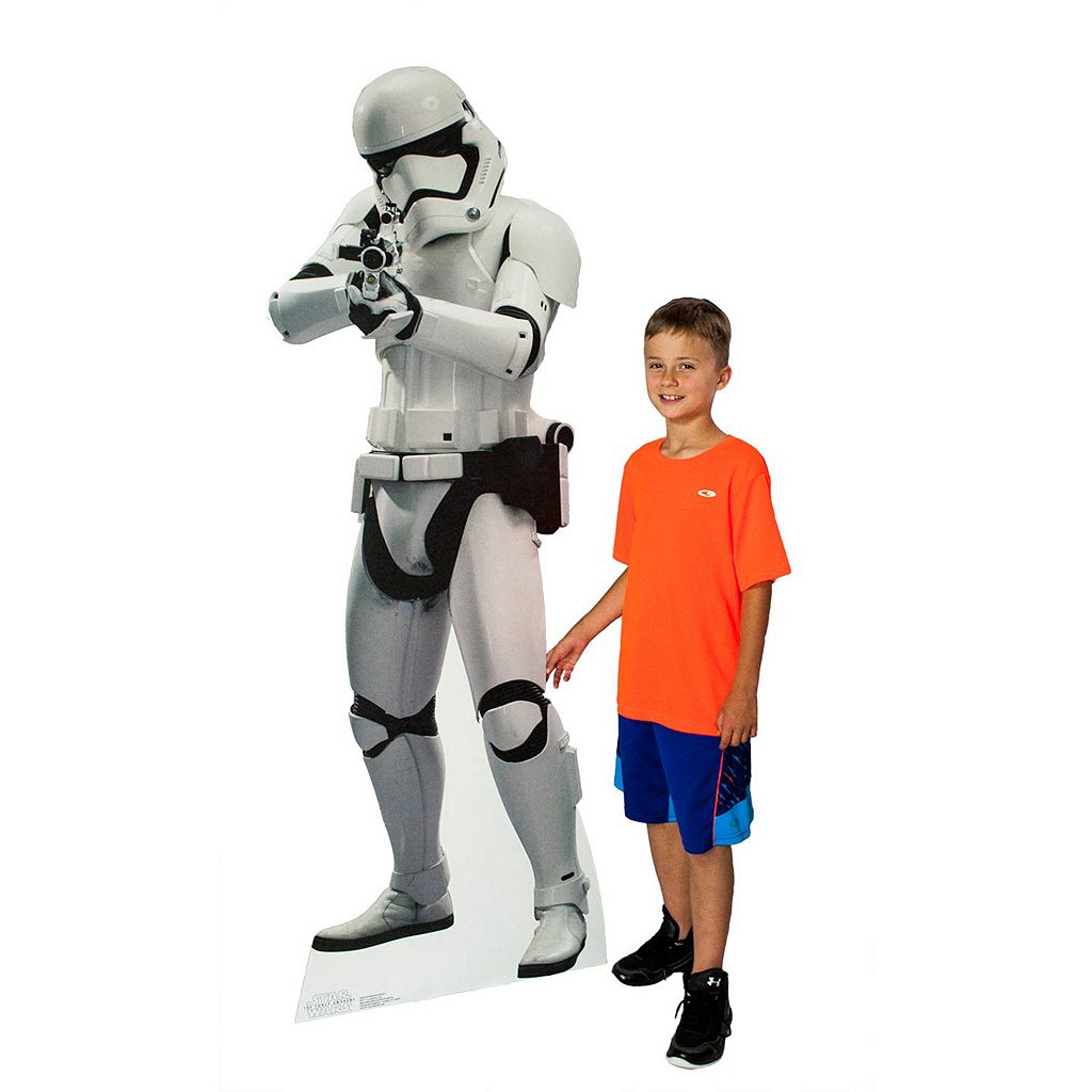 Star Wars: Episode VII The Force Awakens Stormtrooper Cardboard Cutout by Advanced Graphics