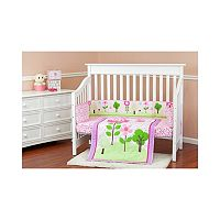 Dream On Me Spring Garden 2-pc. Crib Bedding Set