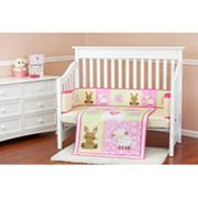 Dream On Me Naptime Friends 2 pc Crib Bedding Set