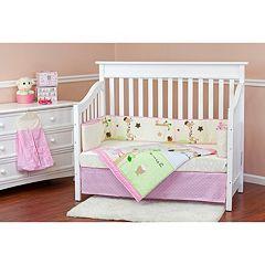 Dream On Me Jungle Friends 5 pc Crib Bedding Set