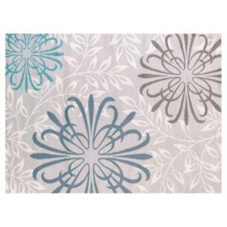 United Weavers Modern Textures Duvet Cover Leaf Rug