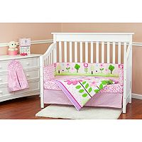 Dream On Me Spring Garden 5-pc. Crib Bedding Set