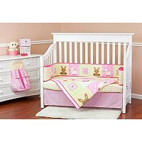 Dream On Me Naptime Friends 5-pc. Crib Bedding Set