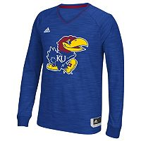 Men's adidas Kansas Jayhawks On Court Shooter Tee