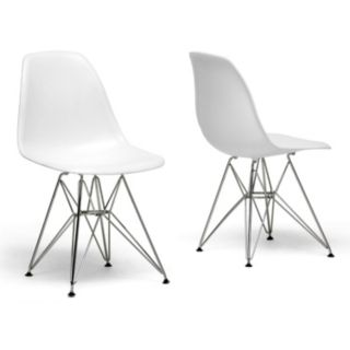 Baxton Studio 2-Piece Side Chair Set