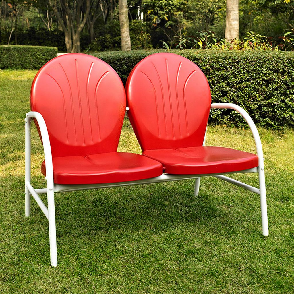 Griffith Metal Loveseat