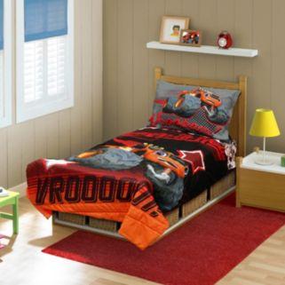 "Nickelodeon Blaze Monster Machines ""Ready to Roll"" Toddler Bedding Set"