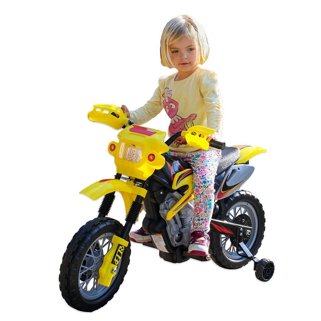 Fun Wheels 6 Volt Ride On Dirt Bike