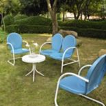 Griffith 4-Piece Metal Outdoor Conversation Seating Set