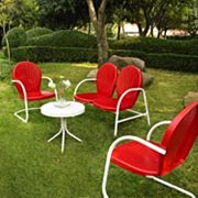 Griffith 4 pc Metal Outdoor Conversation Seating Set