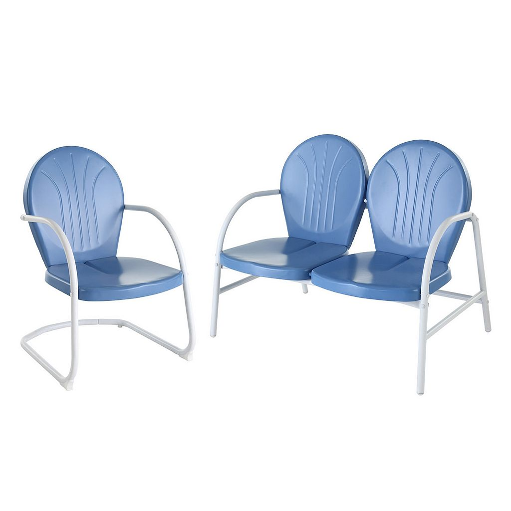 Griffith 2-Piece Outdoor Conversation Seating Set