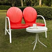 Griffith 2 pc Metal Outdoor Seating Set