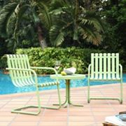 Gracie 3 pc Metal Outdoor Seating Set