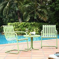 Gracie 3-Piece Metal Outdoor Seating Set