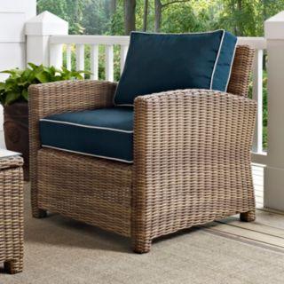 Crosley Outdoor Bilmore Outdoor Wicker Arm Chair