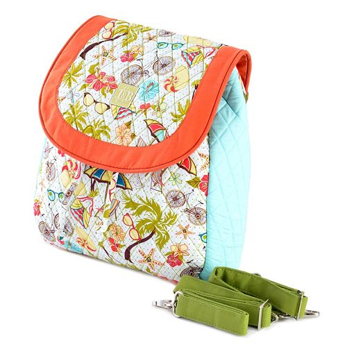 Olympia Quilted Backpack Tote